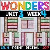 Wonders 4th Grade, Unit 3 Week 4: Abe's Honest Words Interactive Supplements