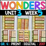Wonders 4th Grade, Unit 3 Week 5: A New Kind of Corn Interactive Supplements