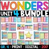 Wonders 4th Grade Unit 4 BUNDLE: Interactive Notebook Page