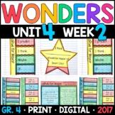 Wonders 4th Grade, Unit 4 Week 2: LaRue for Mayor Interactive Supplements