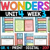 Wonders 4th Grade, Unit 4 Week 3: The Moon Over Star Interactive Supplements