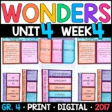 Wonders 4th Grade, Unit 4 Week 4: Why Does Moon Change Shape w/ GOOGLE Classroom