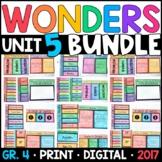 Wonders 4th Grade Unit 5 BUNDLE: Interactive Notebook Page