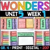 Wonders 4th Grade, Unit 5 Week 1: Mama I'll Give You World with GOOGLE Classroom