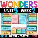 Wonders 4th Grade, Unit 5 Week 2: Apples to Oregon Interactive Supplements