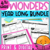 Wonders (2017) 4th Grade Units 1 - 6 Bundle - Print & Digital