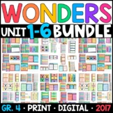 Wonders 4th Grade WHOLE-YEAR BUNDLE Units 1-6 (Aligned Interactive Supplements)