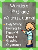 Wonders 4th Grade: Writing Journal Unit 3