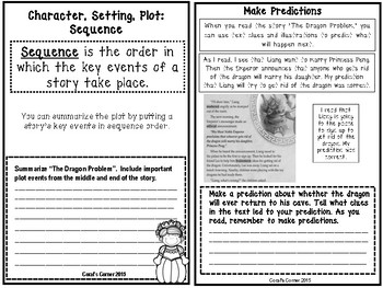 Wonders 4th Grade Interactive Journal Unit 1-Week-1