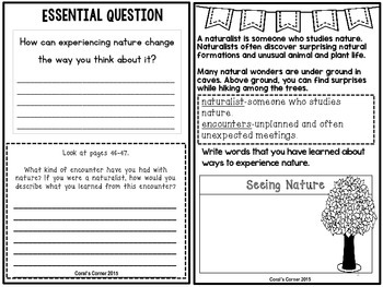 Wonders 5th Grade Interactive Journal Unit 1 -Week 3