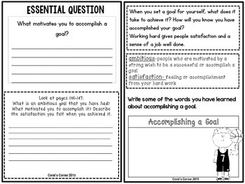 Wonders 5th Grade Interactive Journal Unit 2-Week-5