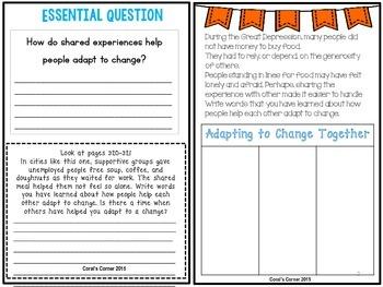 Wonders 5th Grade Interactive Journal Unit 5-Week 2