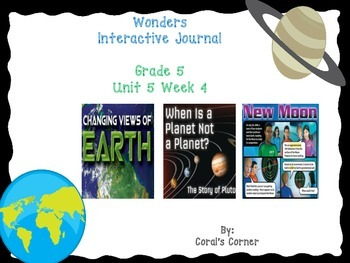 Wonders 5th Grade Interactive Journal Unit 5-Week 4
