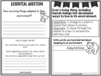 Wonders 5th Grade Interactive Journal Unit 6-Week-3