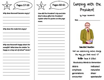 Wonders 5th Grade Trifolds Bundle - Whole Year