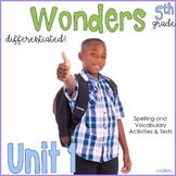 5th Grade Wonders Unit 1 Bundle