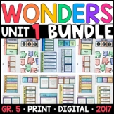 Wonders 5th Grade Unit 1 BUNDLE: Interactive Supplements w