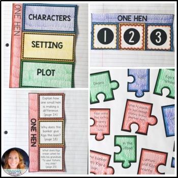Wonders 5th Grade, Unit 1 Week 1: One Hen Interactive Pages and Supplements