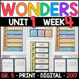 Wonders 5th Grade, Unit 1 Week 4: The Boy Who Invented TV with GOOGLE Classroom