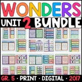Wonders 5th Grade Unit 2 BUNDLE: Interactive Supplements w