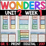 Wonders 5th Grade, Unit 2 Week 1: Who Wrote the U.S. Constitution? Supplements