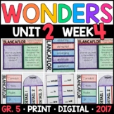 Wonders 5th Grade, Unit 2 Week 4: Blancaflor Supplements w