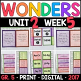 Wonders 5th Grade, Unit 2 Week 5: Stage Fright & Catching Quiet Supplements