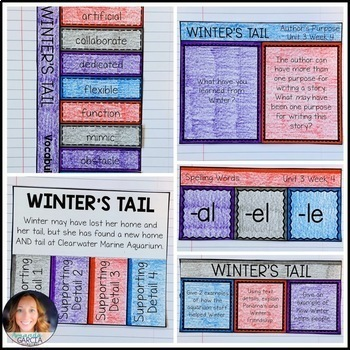 Wonders 5th Grade, Unit 3 Week 4: Winter's Tail Interactive Supplements
