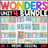 Wonders 5th Grade Unit 4 BUNDLE: Interactive Supplements w
