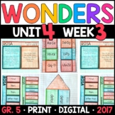 Wonders 5th Grade, Unit 4 Week 3: Rosa Supplements with GO