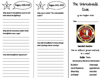 Wonders 5th Grade Unit 6 Trifolds Bundle!