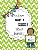 Wonders 6.2 Word Bundle