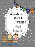 Wonders 6.5 Word Bundle