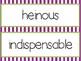 Wonders 6th Grade Vocabulary Words