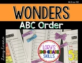 Wonders ABC Order 5th Grade