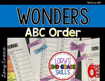 Wonders ABC Order 6th Grade