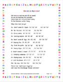 Wonders Alphabet & Wonders Words Song Bundle