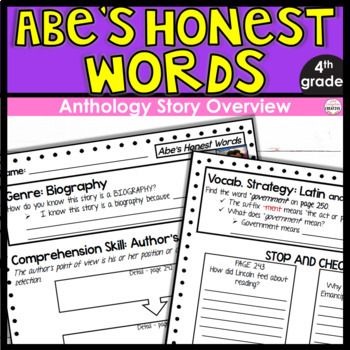 McGraw-Hill's Wonders Anthology Overview (4th Grade): Abe's Honest Words