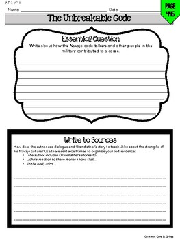 **UPDATED FOR 2018** Wonders Anthology Worksheets - GRADE 5, UNIT 6