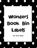 Wonders Book Bin Labels for First Grade