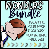 Wonders Bundle |Wonders First Grade |Wonders 2020 Binder,