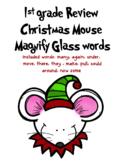 Wonders Christmas Sight Word find
