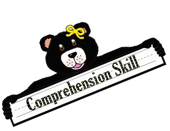 Wonders Comprehension Skills Bulletin Board  for all Units