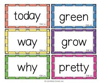Wonders Curriculum First Grade Word Wall