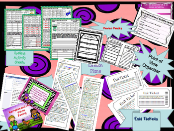 Wonders Curriculum Unit 1 MEGA lesson plan bundle