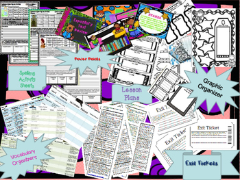 Wonders Curriculum Unit 4 MEGA Lesson Plan Bundle