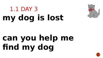 Wonders Daily Oral Language (DOL) PPT 2nd Grade