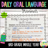 Wonders Daily Oral Language (DOL) 3rd grade BUNDLE PACK UNITS 1-6