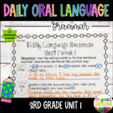 Wonders Daily Oral Language (DOL) 3rd grade Unit 1- Grammar