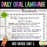 Wonders Daily Oral Language(DOL) 3rd grade Unit 2-Grammar